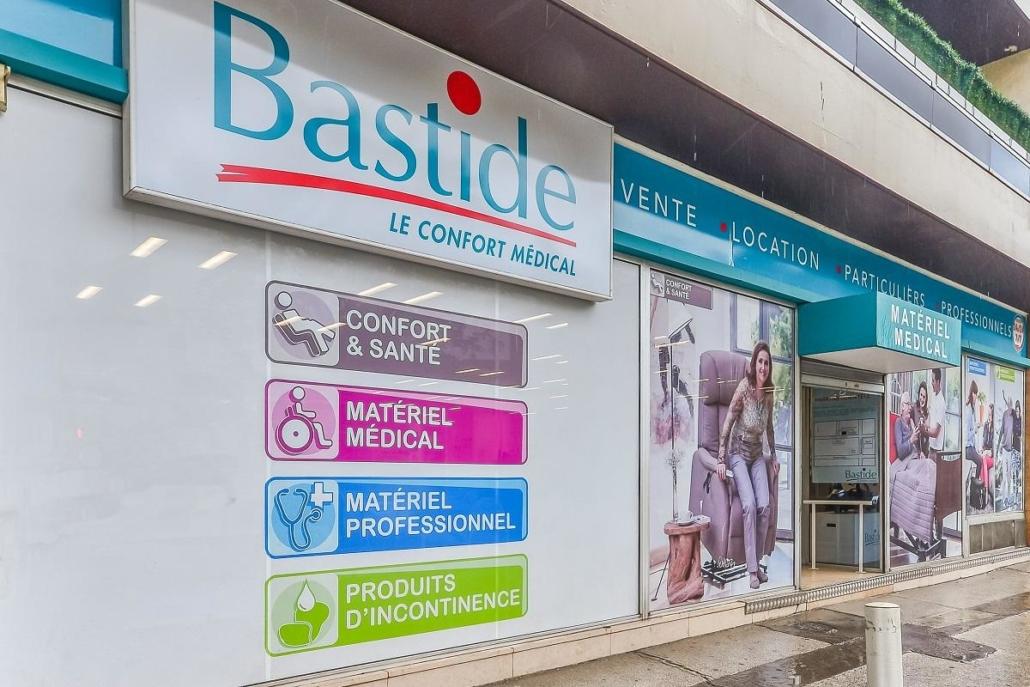Façade du magasin bastide Marseille